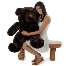 38in Best Munchkin Chubs Dark Brown Teddy Bear