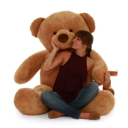Cutie Chubs Super Adorable Life Size Amber Teddy Bear 65in