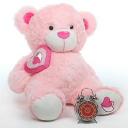 Cutie Pie Big Love pink teddy bear 30in