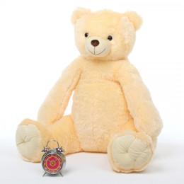 Tiny Tubs Cuddly Vanilla Cream Soft Plush Teddy Bear 42in