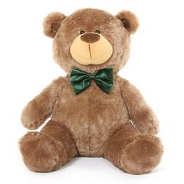 Tiny Christmas Shags Mocha Holiday Teddy Bear 35 in