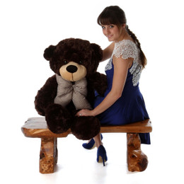 Brownie Cuddles Super Soft Chocolate Brown Teddy Bear 38in