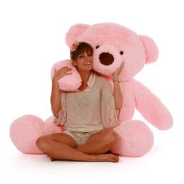 Gigi Chubs Plush and Adorable Light Rose Teddy Bear 5ft