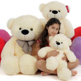 Goldilocks and the Three Bears, Papa Bear, Mama Bear, Baby Bear, Cream Cuddly Family of Giant Teddy Bears