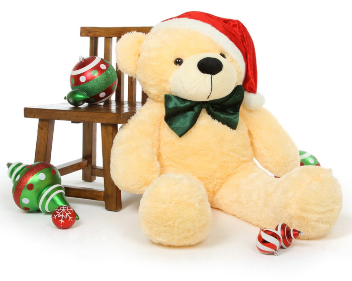 Cozy arrives ready to fill your home with Christmas teddy bear cheer!