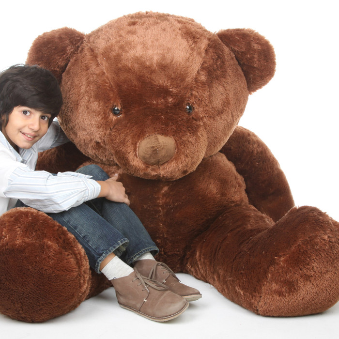 Buttercup Chubs Adorable Life Size Chestnut Teddy Bear 55in