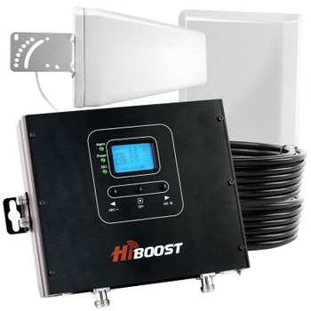 HiBoost Commercial 20K Pro Cell Phone Signal Booster (50 Ohm) Pro20-5S: Kit