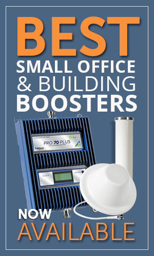Best cellular signal boosters and passive DAS systems for small office