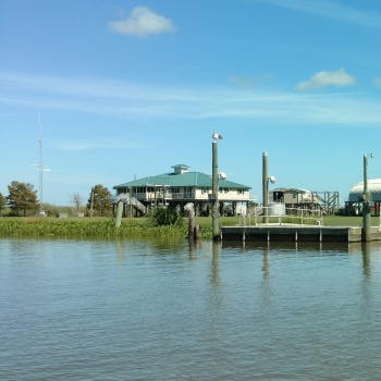 State facility in the marshes of the Mississippi River Delta