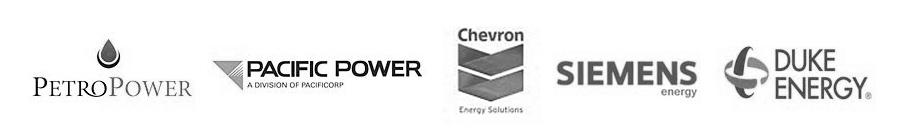 PetroPower, Pacific Power, Chevron, Siemens Energy, Duke Energy