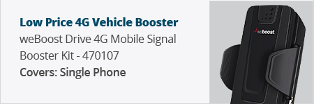 Low Price: weBoost Drive 4G-S