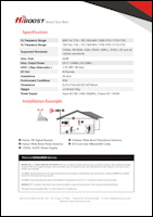Download the HiBoost Home 10K LCD spec sheet (PDF)