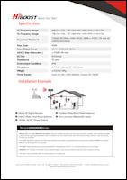 Download the HiBoost Home 4K spec sheet (PDF)