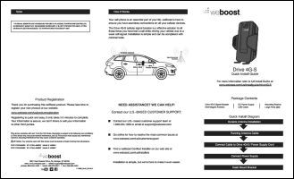 Download the weBoost Drive 4G-S 470107 install guide (PDF)