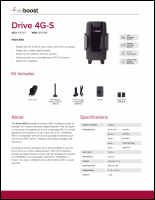 Download the weBoost 470107 Drive 4G-S spec sheet (PDF)