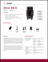 Download the weBoost Drive 4G-S 470107 spec sheet (PDF)