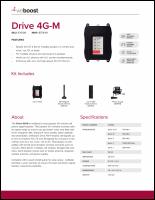 Download the weBoost 470108 Drive 4G-M spec sheet (PDF)