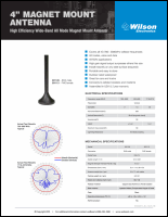 Download the Wilson 301126 spec sheet (PDF)
