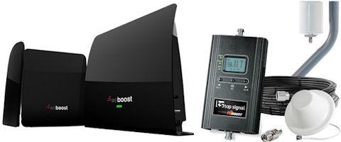 weBoost eqo 4G 474120 and Top Signal HiBoost 4K TS542011