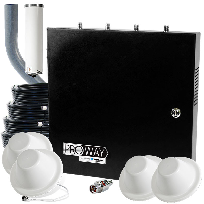Wilsonpro 70 plus office pro max system with 4 antennas - Office professional plus components ...