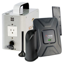 weBoost 470510 Drive 4G-X Portable Off-Grid Cell Phone Signal Booster: Kit Contents