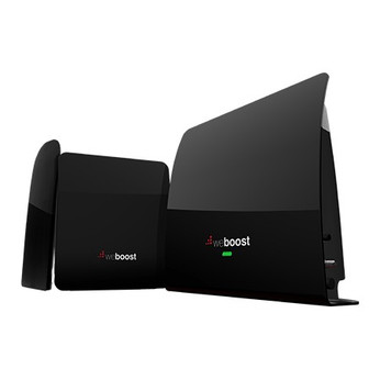 weBoost eqo 4G Cell Phone Signal Booster for Single Room 474120: Booster and Antennas (Displayed)