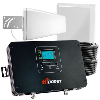 HiBoost Commercial 30K Pro Cell Phone Signal Booster (50 Ohm) Pro25-5S: Kit