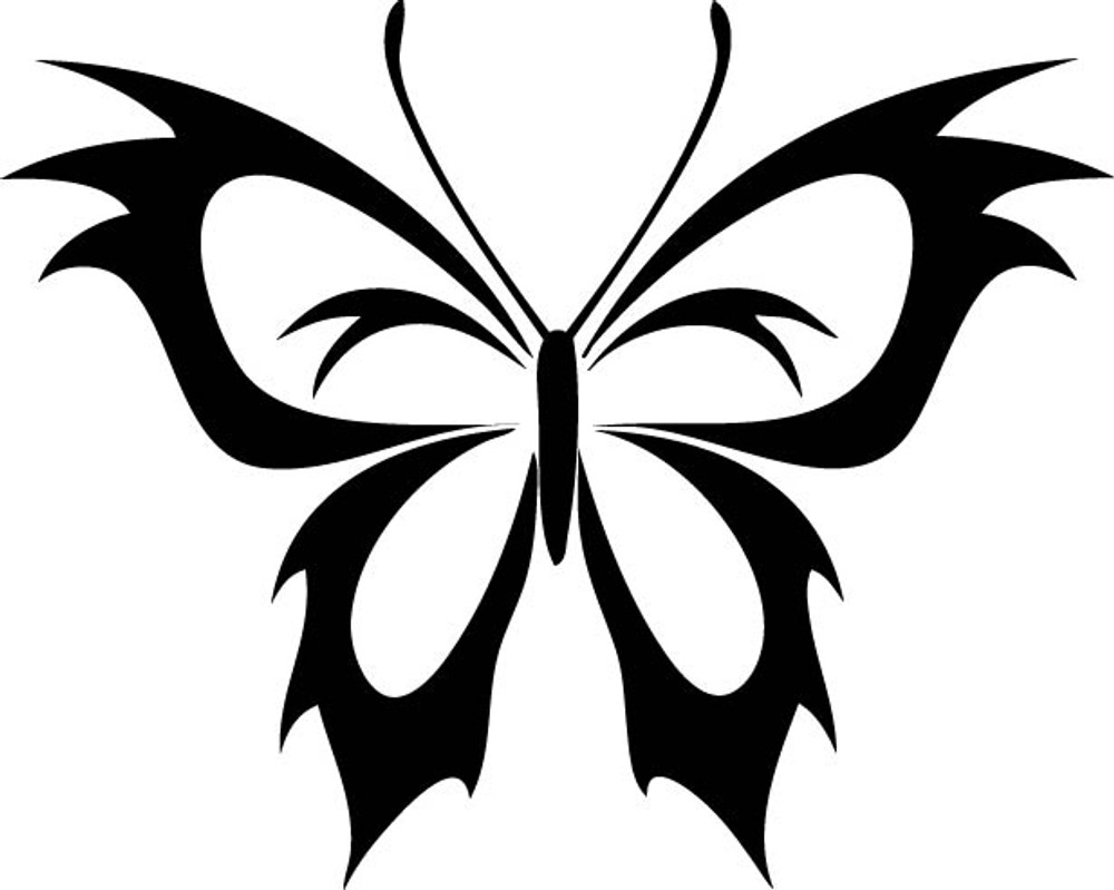 Insect Car Decals Car Stickers Butterfly Car Decal 12