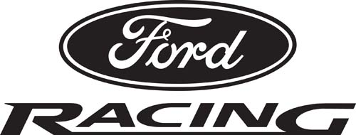 Car Decals Car Stickers Ford Racing Car Decal AnyDecalscom - Stickers and decals for cars