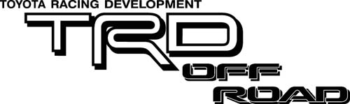 Toyota Car Decals Car Stickers Toyota TRD Off Road Car Decal - Vehicle stickers and decals