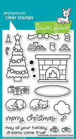 Lawn Fawn Christmas Dreams Stamps