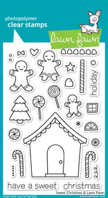 Lawn Fawn Sweet Christmas Stamps