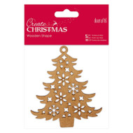 Papermania Create Christmas Wooden Shapes - Decorative Tree by DoCrafts
