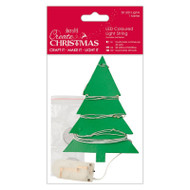Papermania Create Christmas - 20 LED Coloured Light String by DoCrafts
