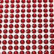 Self Adhesive Rhinestones - Red
