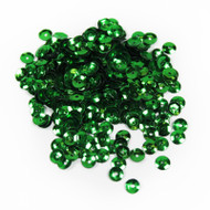 Sequins - 5mm, 8mm Green