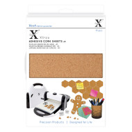X-Cut A5 Adhesive Cork - 15 Sheets