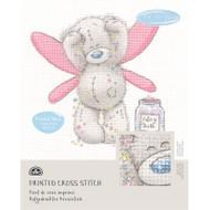DMC Printed Cross Stitch Kit Tatty Teddy - Fairy Dust