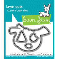 Lawn Fawn Hang In There Die Set