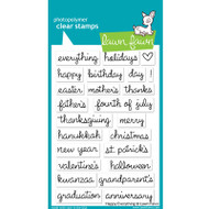 Lawn Fawn Happy Everything Stamps