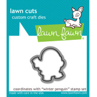Lawn Fawn Winter Penguin Die Set