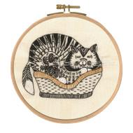 DMC Embroidery Kit - Sebastian Sleeping