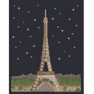 DMC Mr X Stitch Glow in the D'Architecture Collection - Paris by Night