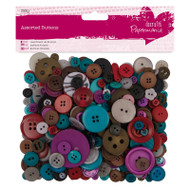 Papermania Jewel Mixed Buttons 250g