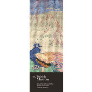 DMC British Museum When Winter Wanes Counted Cross Stitch Bookmark Kit