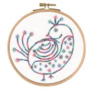 DMC Embroidery Kit Little Birds - Pretty Coy