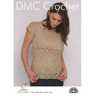 DMC Natura Linen Crochet Pattern - She Sells Sea Shells Top