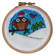 Crafty Critters Owl Cross Stitch Pattern