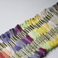 DMC Thread Mouline Stranded Cotton New Colours 01 - 35 Cross Stitch 100% Cotton 8 Metres