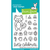 Lawn Fawn Holiday Party Animal Stamps